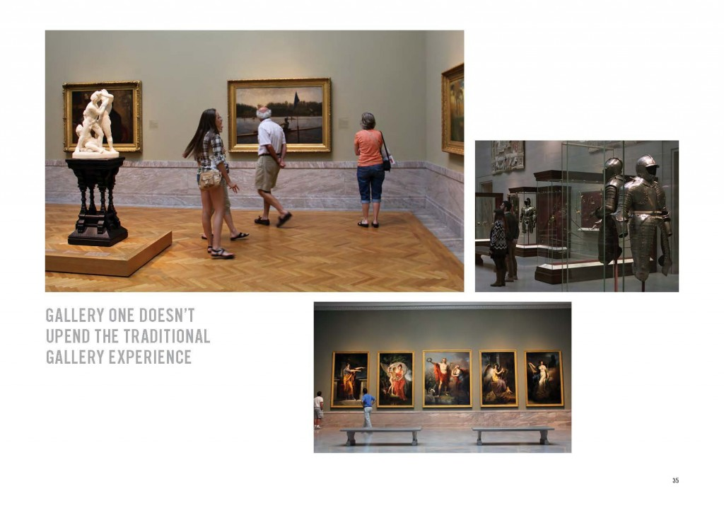 Figure 5: CMA galleries make visitors central to the reinterpretation of the permanent collection. Photo courtesy of Local Projects.