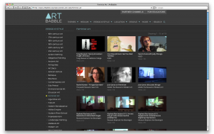 Figure 7: ArtBabble videos related to Feminist Art